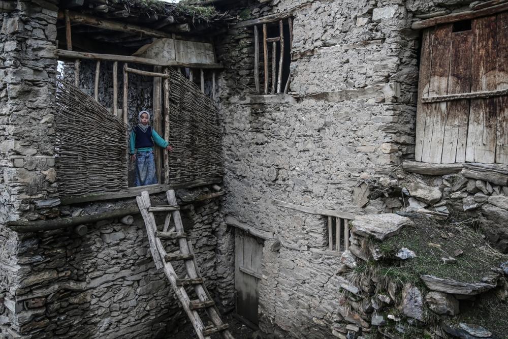 Hizan'ın taş evleri 18