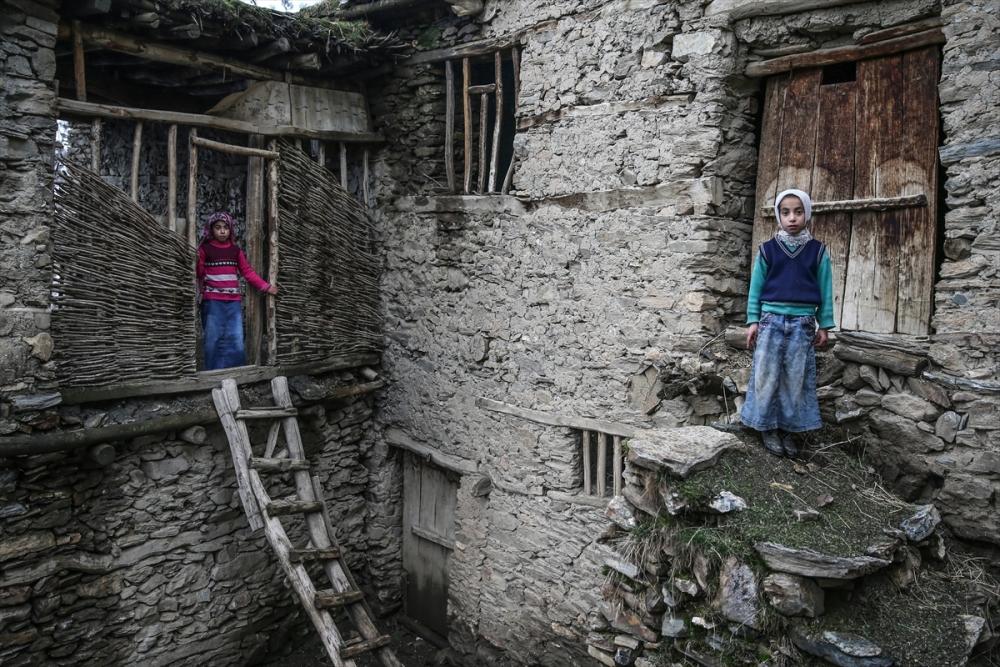 Hizan'ın taş evleri 19