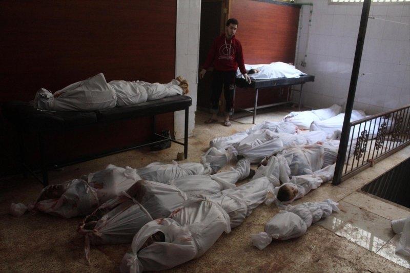 Esad rejimi yine katliam yaptı: 58 ölü 45 yaralı 8