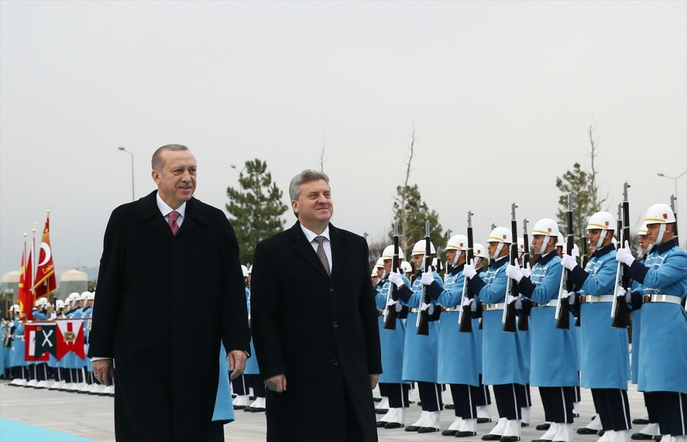 Makedonya Cumhurbaşkanı İvanov Ankara'da 6