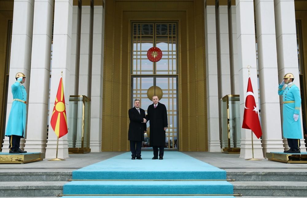 Makedonya Cumhurbaşkanı İvanov Ankara'da 7