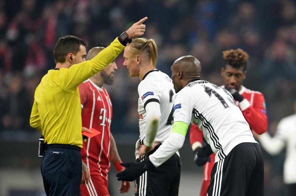 Bayern Münih Beşiktaş maçından kareler 14