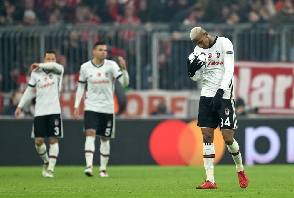 Bayern Münih Beşiktaş maçından kareler 2