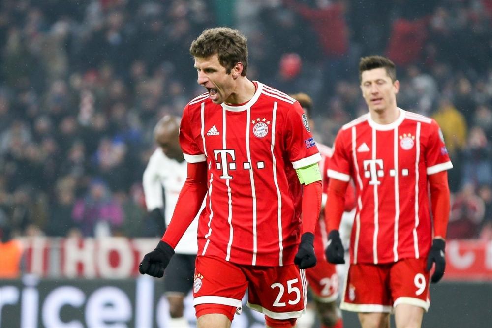 Bayern Münih Beşiktaş maçından kareler 3