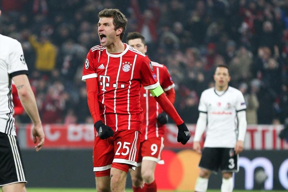 Bayern Münih Beşiktaş maçından kareler 4