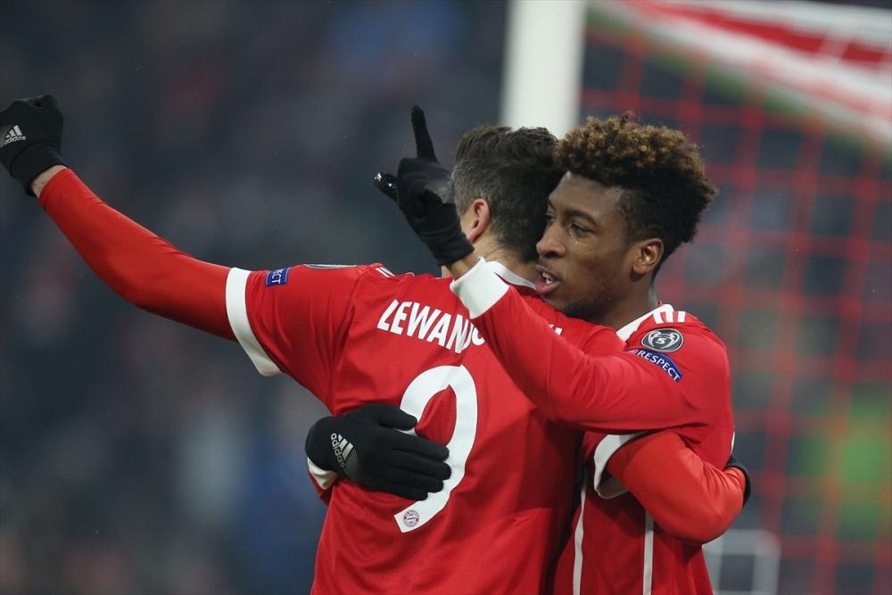 Bayern Münih Beşiktaş maçından kareler 5