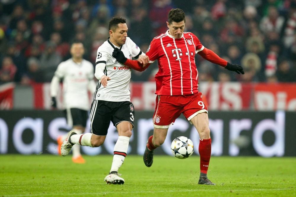 Bayern Münih Beşiktaş maçından kareler 6