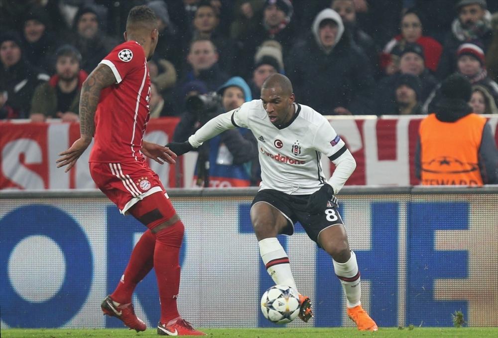 Bayern Münih Beşiktaş maçından kareler 7