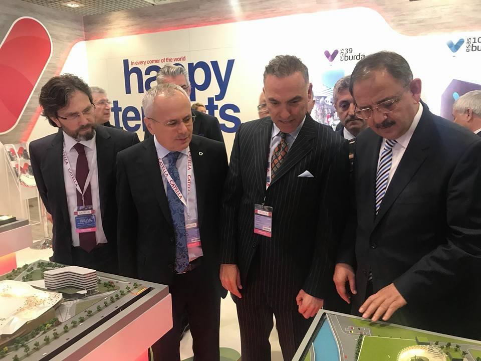 Bakan Özhaseki ve Bakan Yardımcısı Mehmet Ceylan fuara katıldı 1