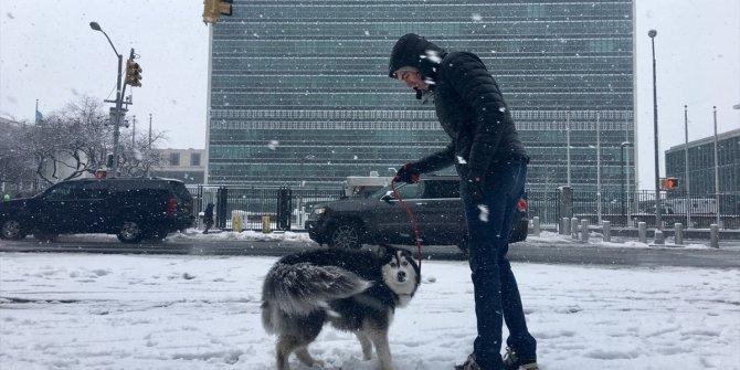 ABD'de kar fırtınası 70 milyon kişiyi etkiledi
