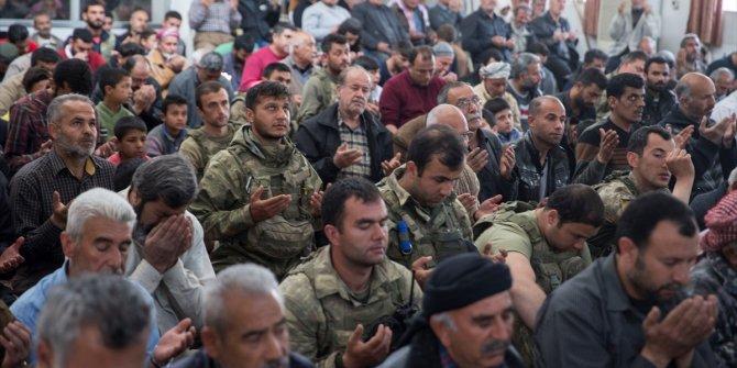YPG'den temizlenen Afrin'de ilk Cuma namazı