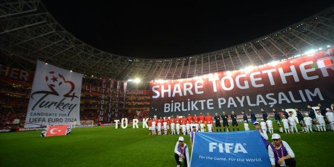 Türkiye İrlanda Cumhuriyeti maçından kareler
