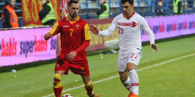 Karadağ Türkiye maçından kareler