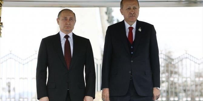 Vladimir Putin Ankara'da