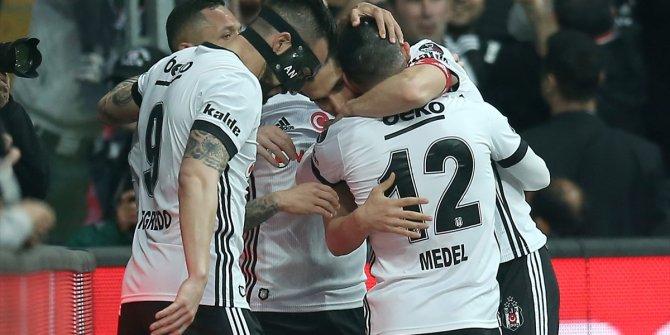 Beşiktaş Göztepe maçından kareler
