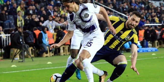 Fenerbahçe Osmanlıspor maçından kareler