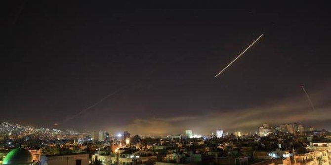 Üç ülke füzeler ve uçaklarla Esed rejimini vurdu