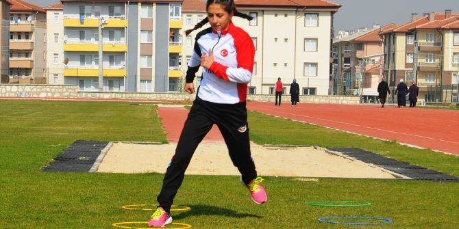 Milli atlet, olimpiyatları hedefliyor