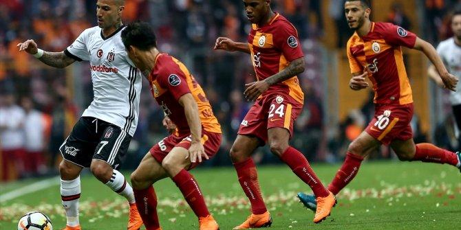 Galatasaray Beşiktaş maçında kareler
