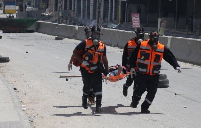 Gazze'de vahşet! Dünya bu karelerle izledi 1