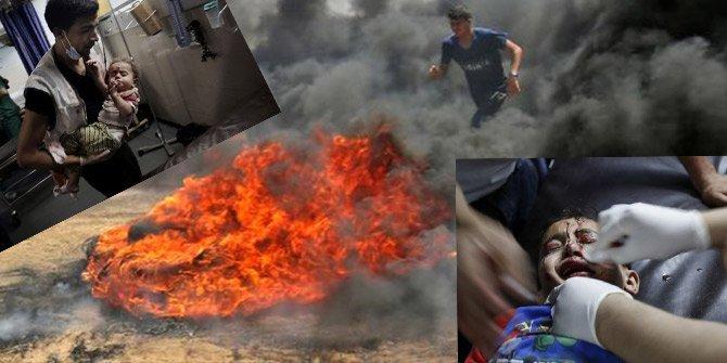 Gazze'de vahşet! Dünya bu karelerle izledi