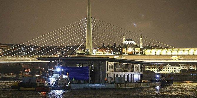 Karaköy yeni iskelesine kavuştu!