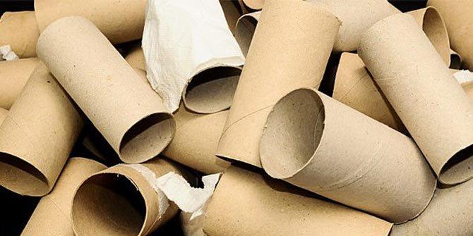 Tuvalet kağıdı rulolarından yaratıcı fikirler