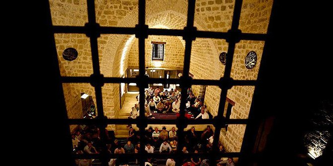Antalya'da 762 yıllık mevlevihane hizmete açıldı