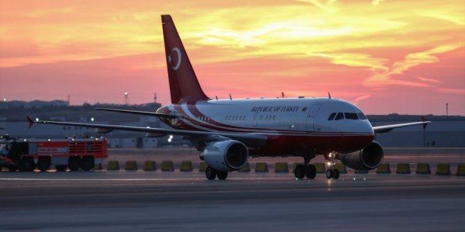 3. Havalimanına inen ilk uçak Cumhurbaşkanı Erdoğan'ın uçağı oldu