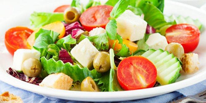 İlginç ve farklı salata tarifleri
