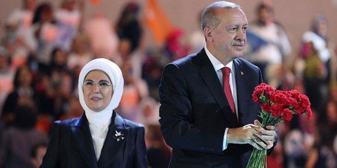 Başkan Erdoğan 6.olağan kongresinde