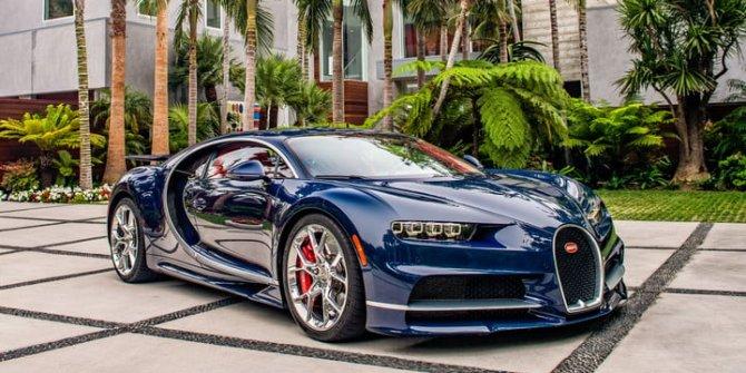Bugatti Chiron'u bakın neyle kapladılar!...