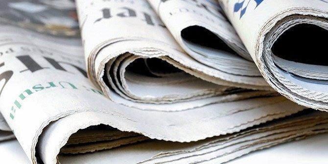 Günün gazete manşetleri ( 15 Eylül 2018)
