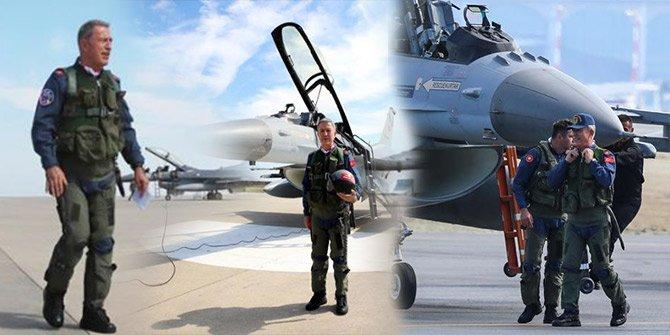 Akar TEKNOFEST'e F-16 uçurdu