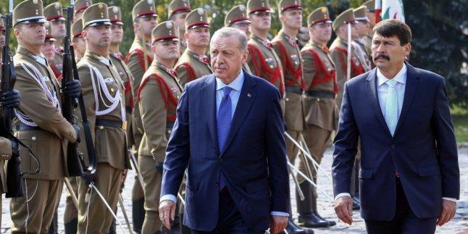 Cumhurbaşkan Erdoğan Budapeşte'de..