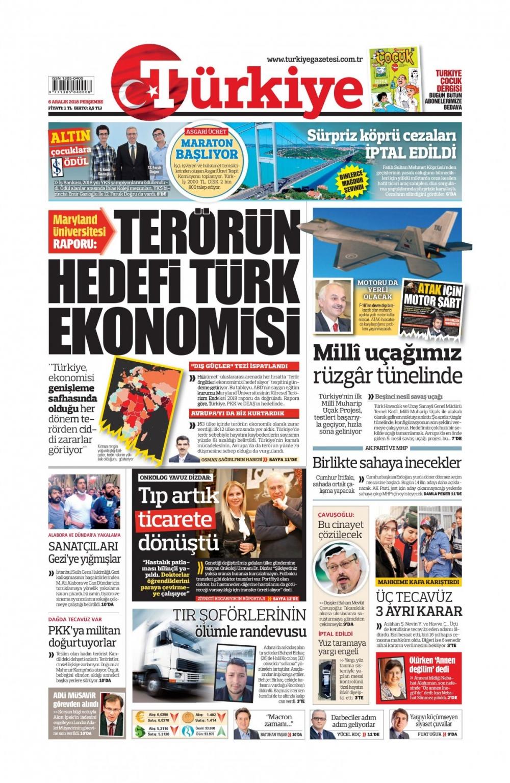 Günün gazete manşetleri (06.12.2018) 1