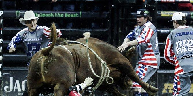 Rodeo heyecanı New York'u sardı