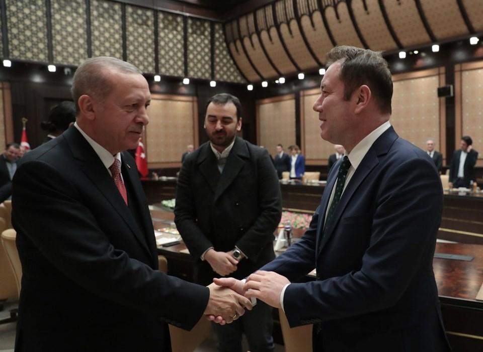 Erdoğan ile sinema sektörü temsilcileri bir araya geldi! 1