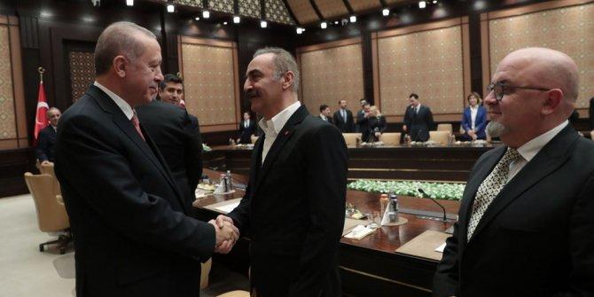 Erdoğan ile sinema sektörü temsilcileri bir araya geldi!