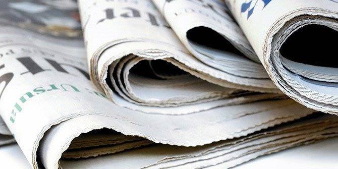 Günün gazete manşetleri (15.02.2019)
