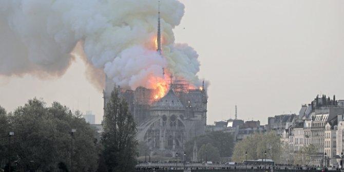 Ünlü kişilerden Notre Dame Katedrali paylaşımları! ( 8,5 saat sonra...)