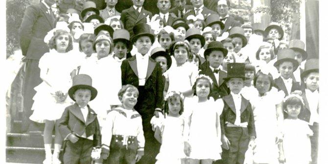 İşte 1935-1936 yıllarındaki 23 Nisan kutlamaları.