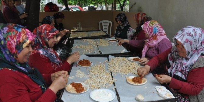Ramazan lezzetlerini imece usulü hazırlıyorlar!