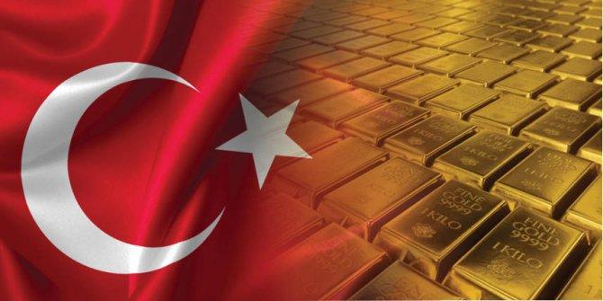 Türkiye, dünya altın rezervi ülke sıralamasında ilk 12'ye girdi.