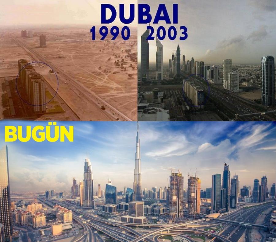 Zenginliğin sembolü Dubai'nin bilinmeyen yüzü 1