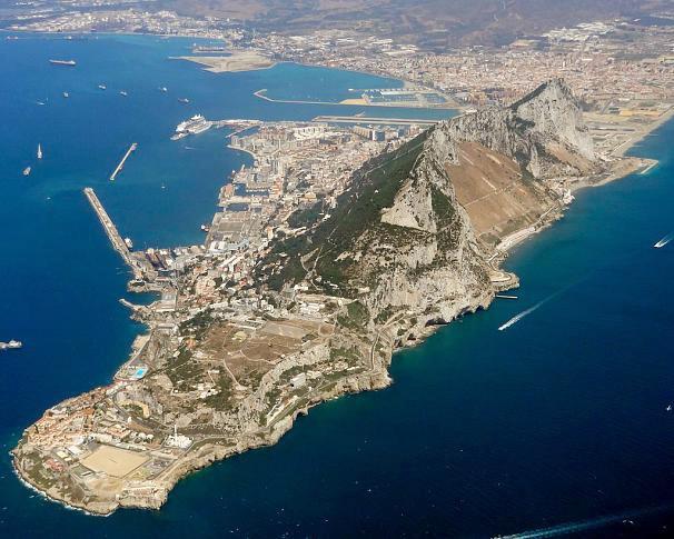 Akdeniz'de bir İngiliz toprağı Cebelitarık 1