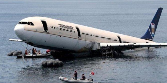 Dünyada batırılan en büyük uçak ülkemizde