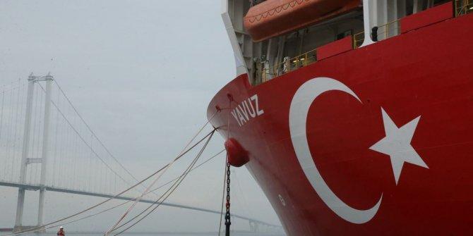 Yavuz, Akdeniz'e uğurlandı!