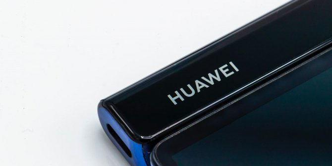 İşte katlanabilir Huawei Mate X