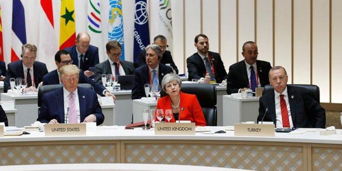 G-20 zirvesi başladı (DÜNYANIN EN GÜÇLÜ 20 LİDERİ JAPONYA'DA)
